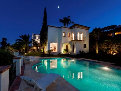 Lovely Villa with a Beautiful Sea View, La Quinta Golf, Marbella