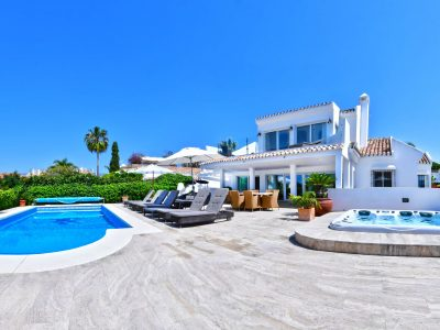 Villa Sunyer, Luxury Villa for Rent in  El Rosario, Marbella