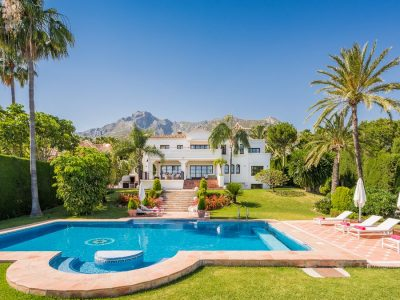 Villa Carmen, Luxury Villa for Rent in Golden Mile, Marbella