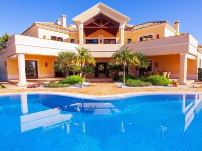 Villa Yanez, Luxury Villa for Rent in El Rosario, Marbella