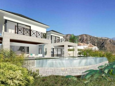 Contemporary South facing Villa in La Quinta, Marbella