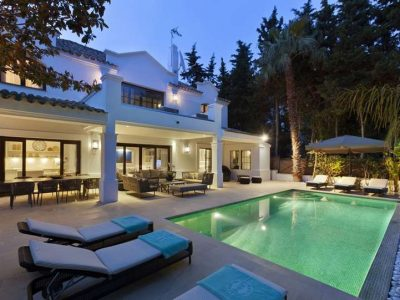 Luxury villa in the grounds of the Marbella Club hotel