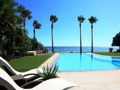 Magnificent Beachfront Villa, Los Monteros