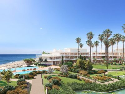 New Contemporary Beachfront 2 Bed Apartment, Estepona