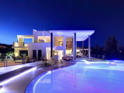 Stunning Frontline Golf Architect Designed Villa, Benahavis, Marbella