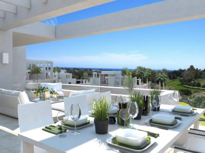 Beautiful New Build 3 Bed Duplex Penthouse, Estepona, Marbella