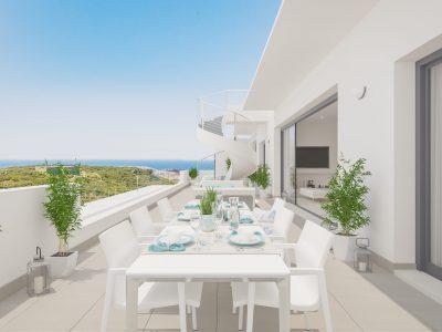2 bed Nieuwe Townhouse in prestigieuze ontwikkeling, Estepona, Marbella