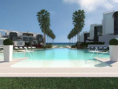 Off-plan Townhouse in Superb Beachfront Complex, Estepona