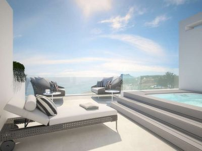 Brand-new Luxury Townhouse with Sea Views, Estepona Playa, Estepona