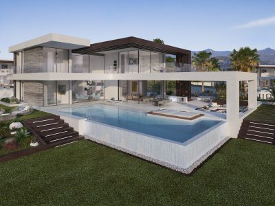 Villa muy agradable con Diseño único y contemporáneo, New Golden Mile