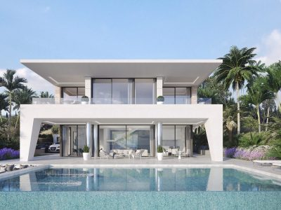 Modern Design Villa with Sea Views, Estepona, Marbella
