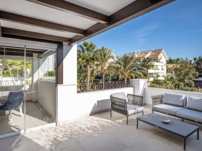 2 Bed Duplex Penthouse in Exclusive Area, Golden Mile, Marbella