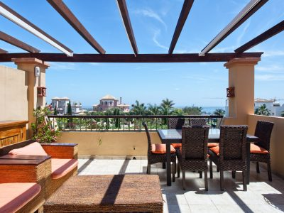 3 Bed Duplex Penthouse with Sea Views, Los Flamingos, Marbella