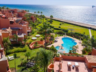 Frontline Beach, Luxury 3 Bed Garden Apartment, Los Monteros, Marbella