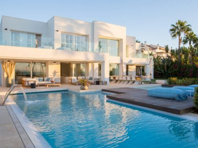 Exceptional Beachfront Villa, Golden Mile, Marbella