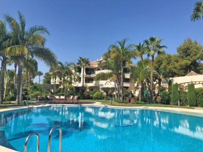 Ground Floor Luxury Apartment, Golden Mile, Marbella