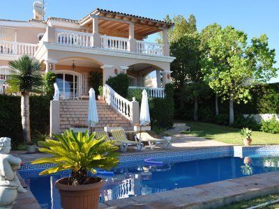 Andalusian Style Villa with Sea & Golf Views, Benahavis, Marbella