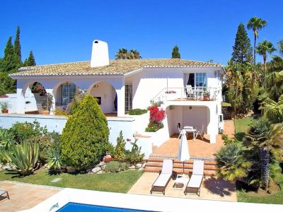 Delightful 3 Bed Villa with Sea Views, El Rosario, Marbella