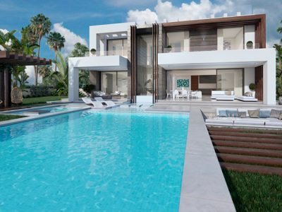Modern Luxury Villa with Spectacular Views in Estepona, Marbella