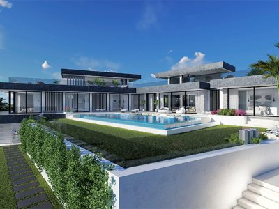 Unique Design Villa with Sea Views in Benahavis, Marbella