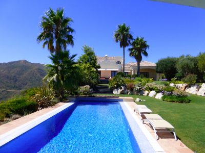 Luxury Elevated Villa with Stunning Sea Views, Monte Mayor, Marbella