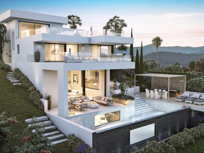 Unique Contemporary Villa in Golf Valley, Nueva Andalucia, Marbella