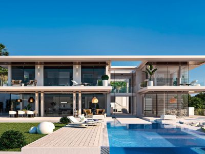 New Californian Style Villa in The New Golden Mile, Marbella