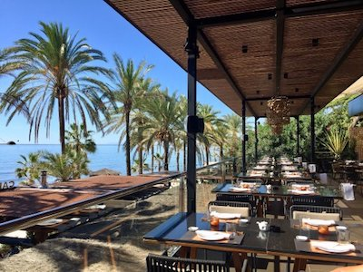 Luxury restaurants of Marbella