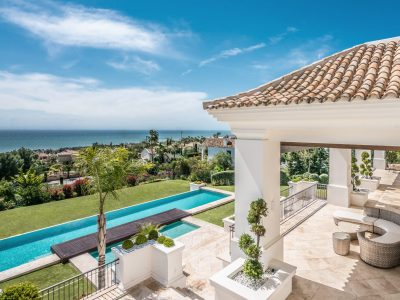Spectacular Contemporary Mansion with Sea Views, Golden Mile, Marbella