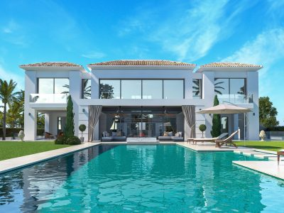 Contemporary Style Villa Unique Design in Casasola, Marbella