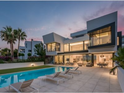 Contemporary Design Villa in Benahavis, Marbella