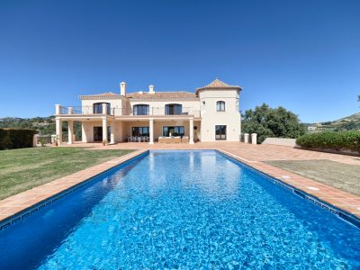 Stylish Mansion with Panoramic Views in Marbella Club Golf, Benahavis