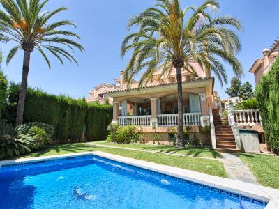 Spacious Detached Villa in the Centre of Marbella