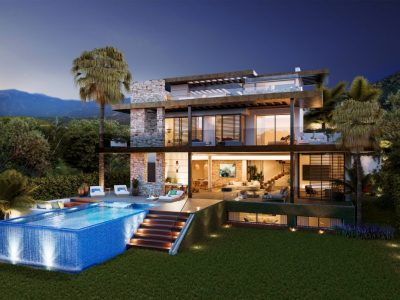 Modern Exceptional Villa in Contact with the Environment, Benahavis, Marbella