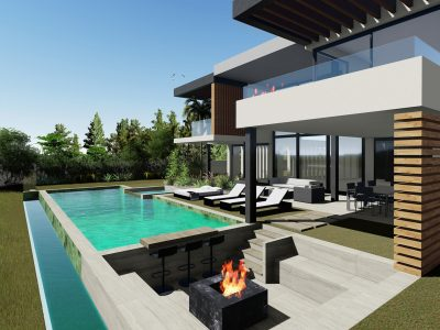 Contemporary Design Villa Near Prestigious Golf Course, New Golden Mile