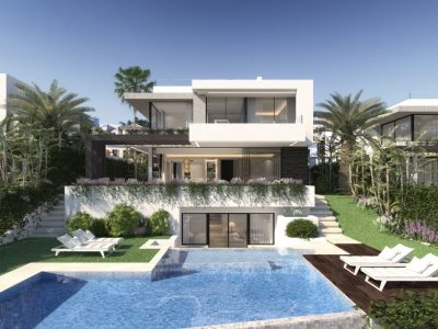 Modern Scandinavian Style Villa in New Golden Mile, Marbella
