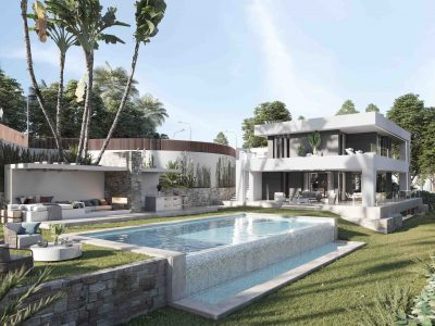 Hedendaagse luxe villa in New Golden Mile, Estepona