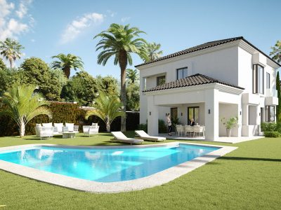 New Built Contemporary Style Villa in Marbella East