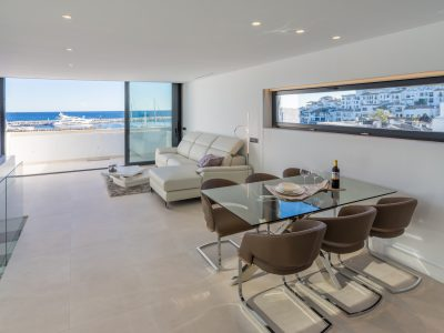 Luxurious Duplex Penthouse, First Line of Puerto Banus, Marbella