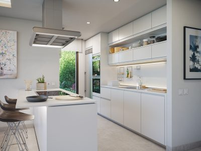 Aquamarina kitchen