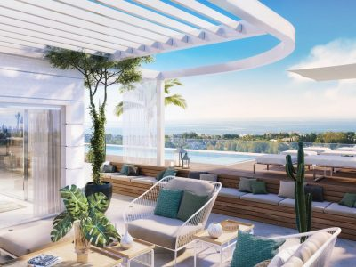 Luxury and Bespoken Penthouse in Golden Mile Marbella