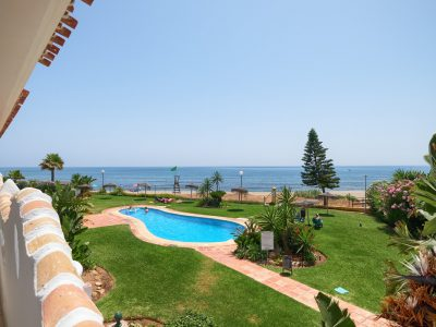 Fully Renovated Frontline Beach Apartment in Mijas, Marbella East