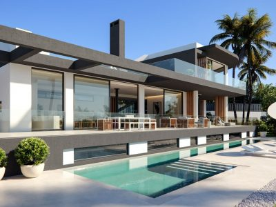 Modern Built Off Plan project Villa in The Golden Mile, Marbella