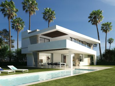 Contemporary Villa next to La Resina Golf, New Golden Mile, Estepona