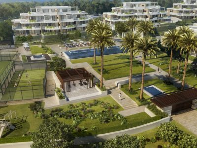 Beachfront 3 Bedroom Apartment in New Golden Mile, Marbella