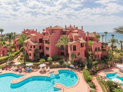 Beachside Corner Duplex Estepona New Golden Mile, Marbella