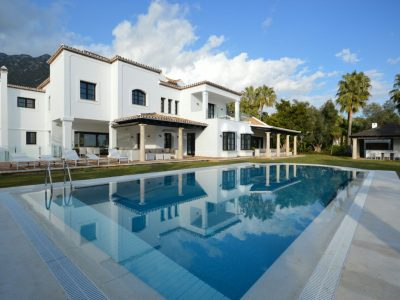 Villa Pascual, Luxury Villa for Rent in Sierra Blanca, Marbella