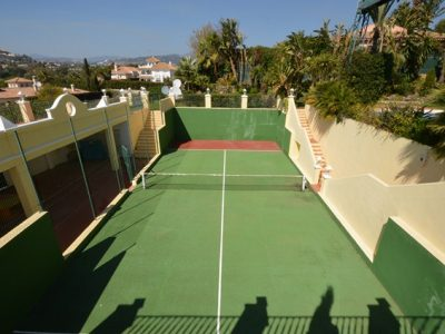 21 Paddle tennis courts VP