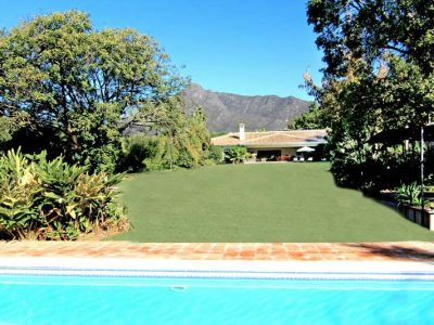 Superb Mansion on Large Plot, Golden Mile, Marbella