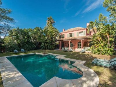Beautiful Private Rustic Villa, Hacienda Las Chapas, Marbella